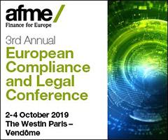 AFME Compliance 2019